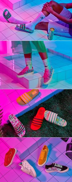 AriZona & Adidas Continue Their Odd, Torrid Love Affair With New Slides Fashion Packaging, Two's Company, Creativity And Innovation, Love Affair, Bold Prints, Packaging Design Inspiration, Package Design, Gd, Torrid