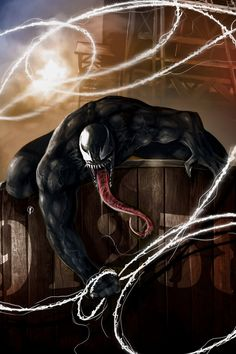 #Venom #Fan #Art. (Venom) By: Riccardo-Fasoli. (THE * 5 * STÅR * ÅWARD * OF * MAJOR ÅWESOMENESS!!!™) [THANK U 4 PINNING!!<·><]