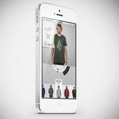Corner shop App Idea by Luca Di Tomassi, via Behance