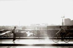 Hello, Autumn. Hello, Sunshine. Berlin, Germany, 2014, Canon EOS 600 D.  #street #photography #poster #urban #cityscape #citylife #portrait #people #capture #europe #germany #east #aaanniii #ostdeutschland #ost #straße #strasse #straßenfotografie #city #road #travel #art #etsy #society6 #sepia #canon #50mm #canoneos600d #urban #berlin #travel #table #art #photography #style #print #bike #biker #portrait ##aaanniii #anjahebrank #autumn #sun #sunlight #fernsehturm #berlin #ostdeutschland