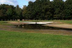 Land art in de Enschedese stadsrand. Ontwerp: Paul de Kort, landschapsontwerp: Inge Vleemingh - Dienst Landelijk Gebied