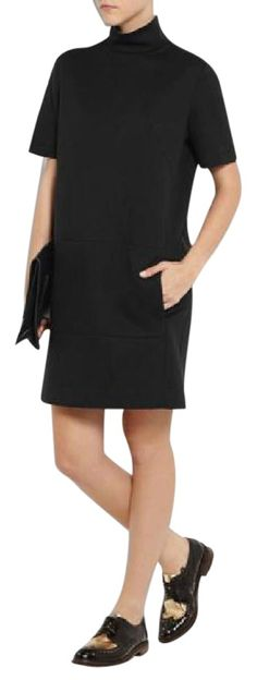 Cdric Charlier Black Turtleneck Dress. Free shipping and guaranteed authenticity on Cdric Charlier Black Turtleneck DressCEDRIC CHARLIER Black Turtleneck Dress, sz IT 40. ...