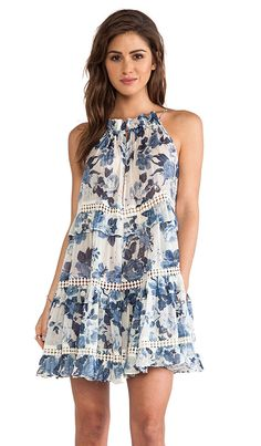 Love this easy floral dress