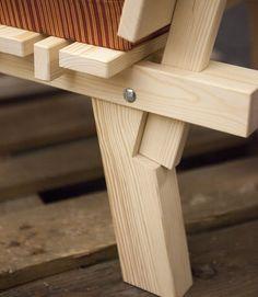 goteborg_ + Charlie + Styrbjörn + Nilsson + and + Sami + Kallio + × - Diy Möbel Chair Design Wooden, Wood Design, Wood Furniture, Furniture Design, House Furniture, Cheap Furniture, Furniture Sets, Wood Joints, Diy Holz