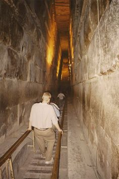 Inside the Great Pyramid of Giza: