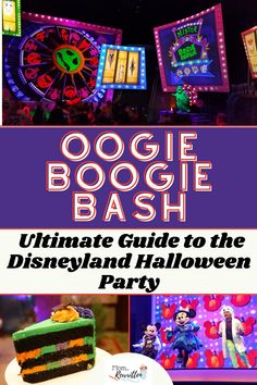 Disneyland Oogie Boogie Bash returns this fall season for more Halloween time fun at the California theme parks. This Disney Halloween party is a unique mix of trick or treating, Disney villains, rides, shows, parades and more! Get the specific tips on how to visit the somewhat-spooky Halloween special event with toddlers, preschoolers and kids. Find out details on where to buy tickets, dressing in costume, what to bring, seasonal foods and can't miss Halloween themed rides and attractions. Disneyland Halloween Party, Disneyland Trip, Disneyland Resort, Spooky Halloween, Happy Halloween, Disney Travel, Disney Cruise Line, Disney Vacations, Disney Tips