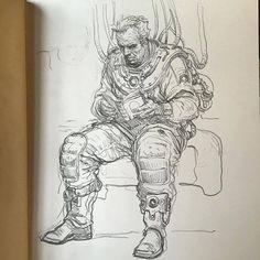 Art of Karl Kopinski with Rinku Villasra and Pushpender Singh -  July 29, 2016 - Space noodlin