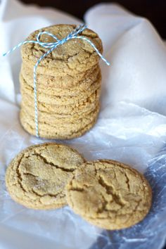 Soft and Chewy Ginger Cookies - Bake.Eat.Repeat.