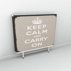 Keep calm and cover your radiators with this little gem!