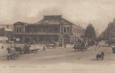 place de la Bastille - Paris 4ème/11ème/12ème La Gare de Vincennes, place de la Bastille, vers 1900.
