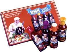Chef Paul Prudhomme's Magic Seasoning Blends ~ Sauce & Marinade Giftpack, Qty. 4- 12 fl. oz. Bottles - http://www.yourgourmetgifts.com/chef-paul-prudhommes-magic-seasoning-blends-sauce-marinade-giftpack-qty-4-12-fl-oz-bottles/