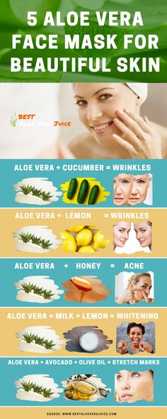 Benefits of Aloe Vera Gel for Skin and Hair Care - Best aloe vera juice Aloe On Face, Aloe Vera Face Mask, Acne Face Mask, Face Skin, Face Masks, Aloe Vera For Skin, Aloe Vera Skin Care, Natural Beauty Tips, Organic Beauty