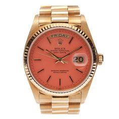 Rolex ~ Coral. Maybe one day.