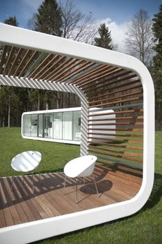 Modular Units / Coodo  Movable summer home!