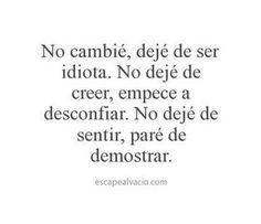 #nocambié