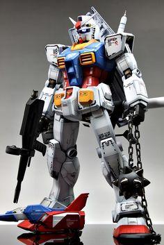 GUNDAM GUY: PG 1/60 RX-78-2 Gundam - Customized Build