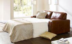 Bronx Leather Sofa Bed