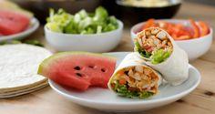 Healthy Easy Chicken Wrap