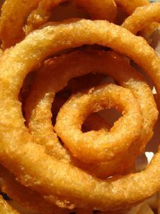 I looove me some onion ringd and homemade chipotle mayo!! Mmmm, I sure am glad I cooked at a restaurant before I had kids ;-)