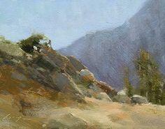"High Road by Simon Addyman Oil ~ 8"" x 10"""