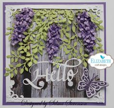 Wisteria by Selma - Cards and Paper Crafts at Splitcoaststampers