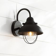 $84 You'll love the Everetts 1-Light Outdoor Barn Light at Wayfarer - Great Deals on all Lighting products with Free Shipping on most stuff, even the big stuff.