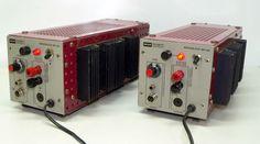 Telewatt MB 140 amp. - Klein & Hummel monoblocks. 1980 ?