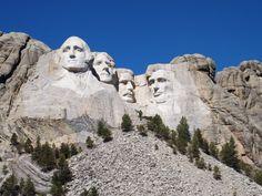 Mount Rushmore National Memorial in Keystone, SD
