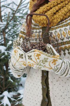 VIBEKE DESIGN: Varme plagg i vinterkulda !