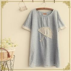Short-Sleeve Umbrella Pattern T-Shirt - Fairyland   YESSTYLE