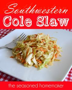 Intriguing cole slaw recipe!  I've got to try it, if only out of curiosity.