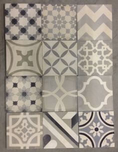 Moroccan cement-tiles