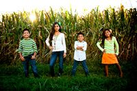 "Child portrait - my fans named this one ""Children of the Corn"" :-) wink"