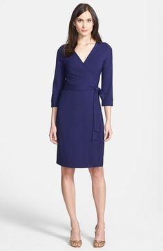 Diane von Furstenberg 'New Julian 2' Jersey Wrap Dress on shopstyle.com