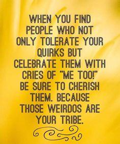 Be Sure To Cherish Them