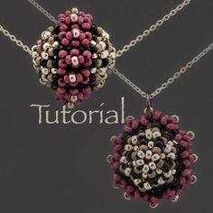 Beaded Bead Tutorial Luscious Layers Digital Download by JewelryTales on Etsy https://www.etsy.com/listing/159851292/beaded-bead-tutorial-luscious-layers