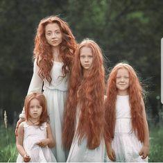 Photographer Captures The Beauty of a Redhead Family Beautiful Red Hair, Beautiful Redhead, Beautiful Family, Beautiful People, Natural Redhead, Vitiligo Treatment, Belle Photo, Hair Goals, Long Hair Styles