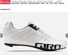 BEST LIGHTWEIGHT ROAD CYCLING SHOES: Bicycling names the Giro Empire SLX one of the Best Lightweight Road Cycling Shoes. See the review: http://www.bicycling.com/bikes-gear/bikes-and-gear-features/best-lightweight-road-cycling-shoes/giro-empire-slx. Check out the Empire SLX: http://www.giro.com/us_en/products/men/cycling-shoes/road/empire-slx-23071.html