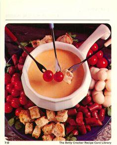 15 Fondues - Betty Crocker Recipe Card Library  British Brunch Fondue is our annual Christmas Eve dinner!