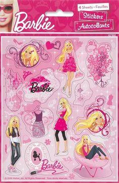 Unique Barbie Sticker Sheets, 4-Piece by Unique, http://www.amazon.com/dp/B00B5NWBQC/ref=cm_sw_r_pi_dp_.Zekrb0D9G0F3