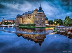 Orebro Castle - Orebro, Sweden.  My temporary home in 2005.  The city that is, not the castle :)