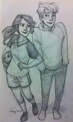 A pencil drawing Cute Couple Drawings, Love Drawings, Art Drawings, Character Sketches, Character Art, Character Design, Sketches Of Love, Art Sketches, Cartoon Kunst