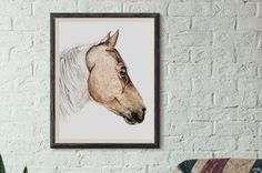 About: Beautiful ink drawing of a quarter horse mare. Brown coloring was added in Photoshop. Art by Brandie Larson, graphicbrewery.com.  Want a custom pet portrait, contact me at my website!