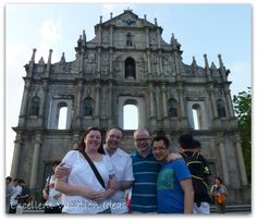 - We loved the blend of old Portugal and Chinese at St. Paul's Cathedral in Macau Macau, Cathedrals, Barcelona Cathedral, Portugal, Chinese, Tours, Vacation, Vacations, Holidays Music