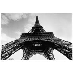 Eiffel Tower Sky Canvas Art Print (€55) ❤ liked on Polyvore featuring home, home decor, wall art, black and white canvas wall art, black & white wall art, black canvas wall art, parisian wall art and black white home decor