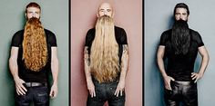 Barbas Cabello largo
