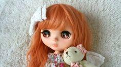 Custom Blythe *. Divided Ireland princess *.  Buy her here:   #blythe #blythedolls #kawaii #cute #rinkya #japan #collectibles #neoblythe #customblythe