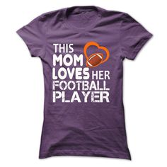 THIS MOM LOVE HER FOOTBALL PLAYER