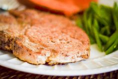 How To Bake Pork Chops In The Oven So They Are Tender And Juicy   LIVESTRONG.COM Juicy Pork Chops, Pork Sirloin Chops, Thick Cut Pork Chops, Pork Tenderloins, Boneless Pork Chops, Tender Pork Chops In Oven, Tender Baked Pork Chops, Center Cut, Baker Recipes