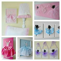 Any little budding Ballerina will love this Dancing Ballerina Tutu Canvas Wall Art! It will make your child's room decor unique. Diy Wall Art, Canvas Wall Art, Wall Decor, Bedroom Decor, Tutu Bailarina, Ballerina Room, Kids Decor, Home Decor, Little Girl Rooms